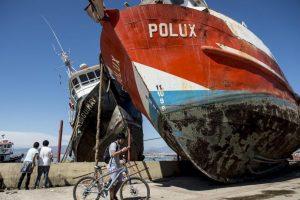 Así lo señaló Sergio Barrientos, director del Servicio Sismológico de la Universidad de Chile Foto:AFP
