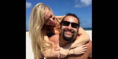 Rusev y Summer Rae. Foto:WWE