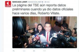 Foto:Twitter Bancada Líder