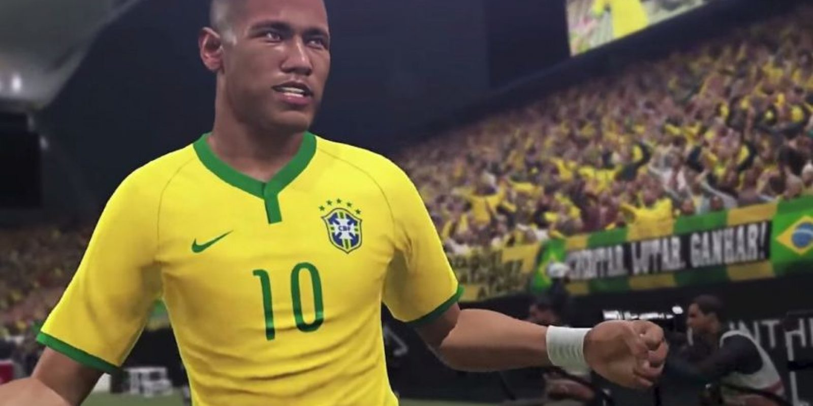 Neymar Jr. es la estrella del PES 2016. Foto:Konami