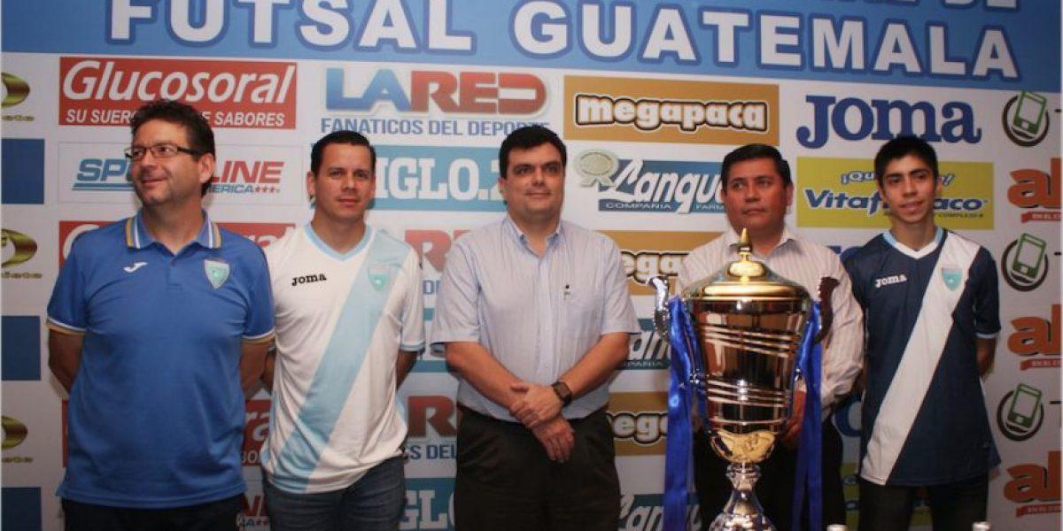 Selección de Futsal de Guatemala afrontará un nuevo reto