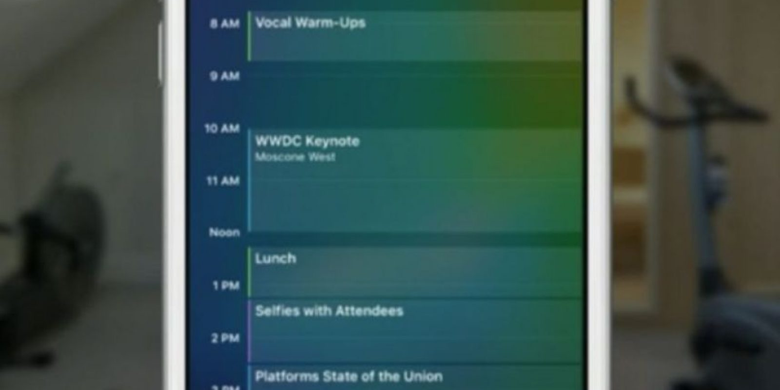 La nueva fuente San Francisco, que fue estrenada en el Apple Watch, se agregó para iPhone y iPad como la escritura por defecto. Foto:Apple