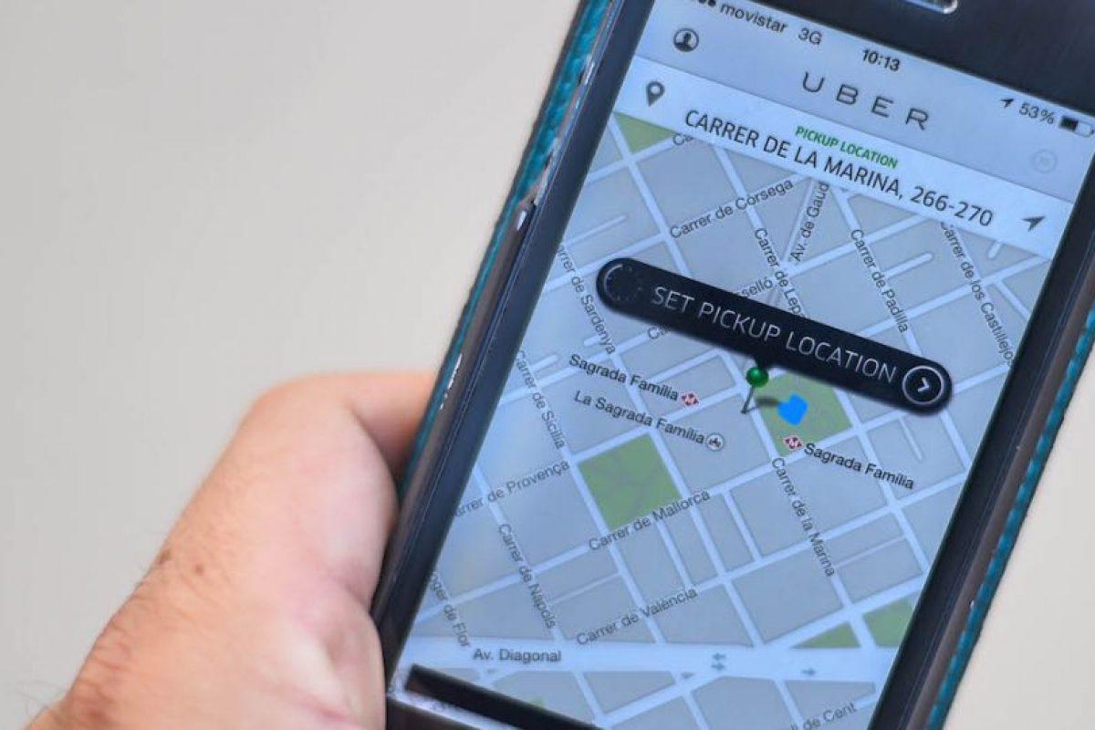 2) Uber funciona las 24 horas del día durante todos los días del año. Foto:Getty Images