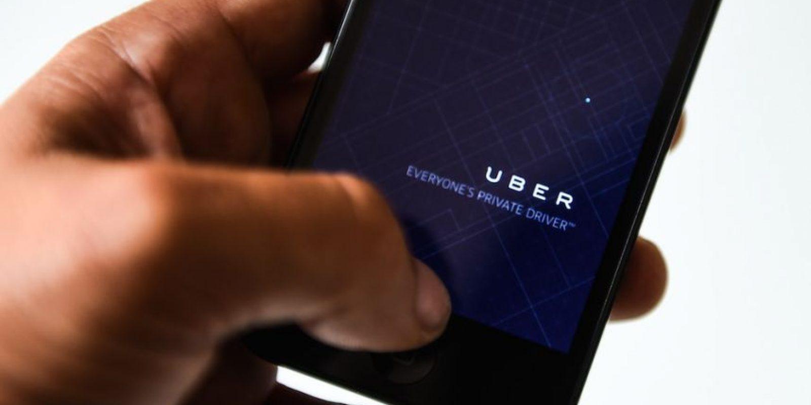Uber es una de las app favoritas de los usuarios para transportarse. Foto:Getty Images