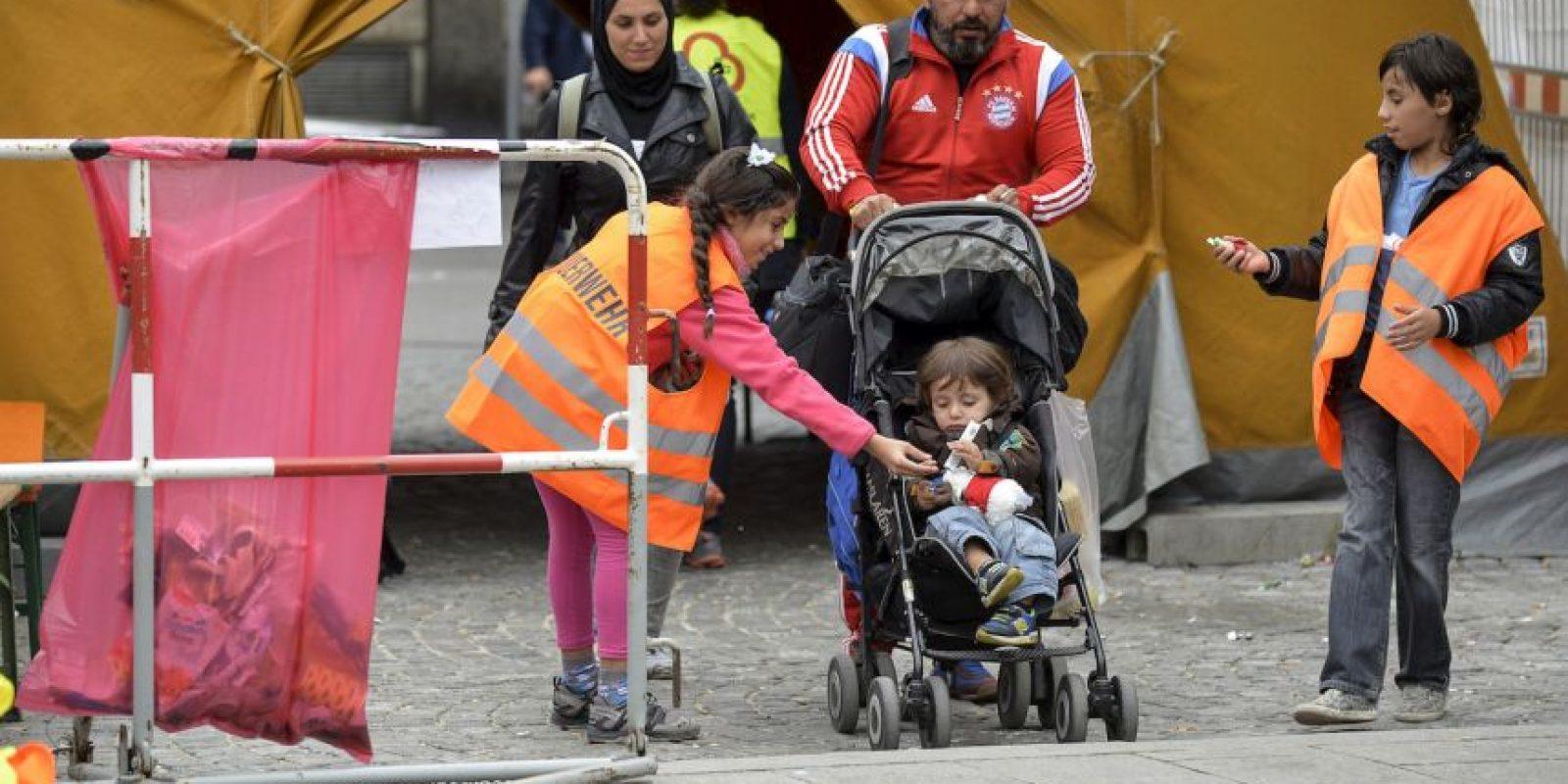 La mayoría de los refugiados buscan llegar a Alemania. Foto:Getty Images