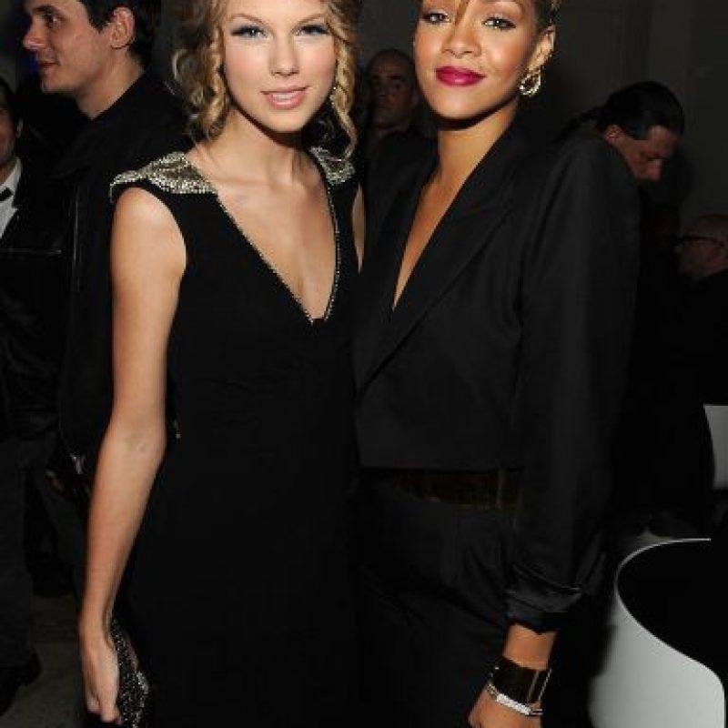Rihanna aseguró que no tiene intenciones de cantar con Taylor Swift. Foto:Getty Images