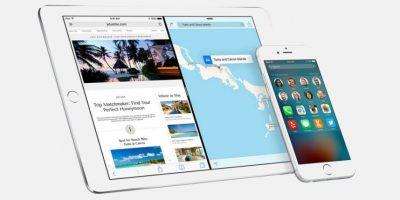 iOS 9 ya está disponible para su descarga. Foto:Apple