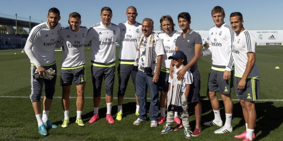 El Real Madrid recibe como uno de los suyos al refugiado sirio Mohsen