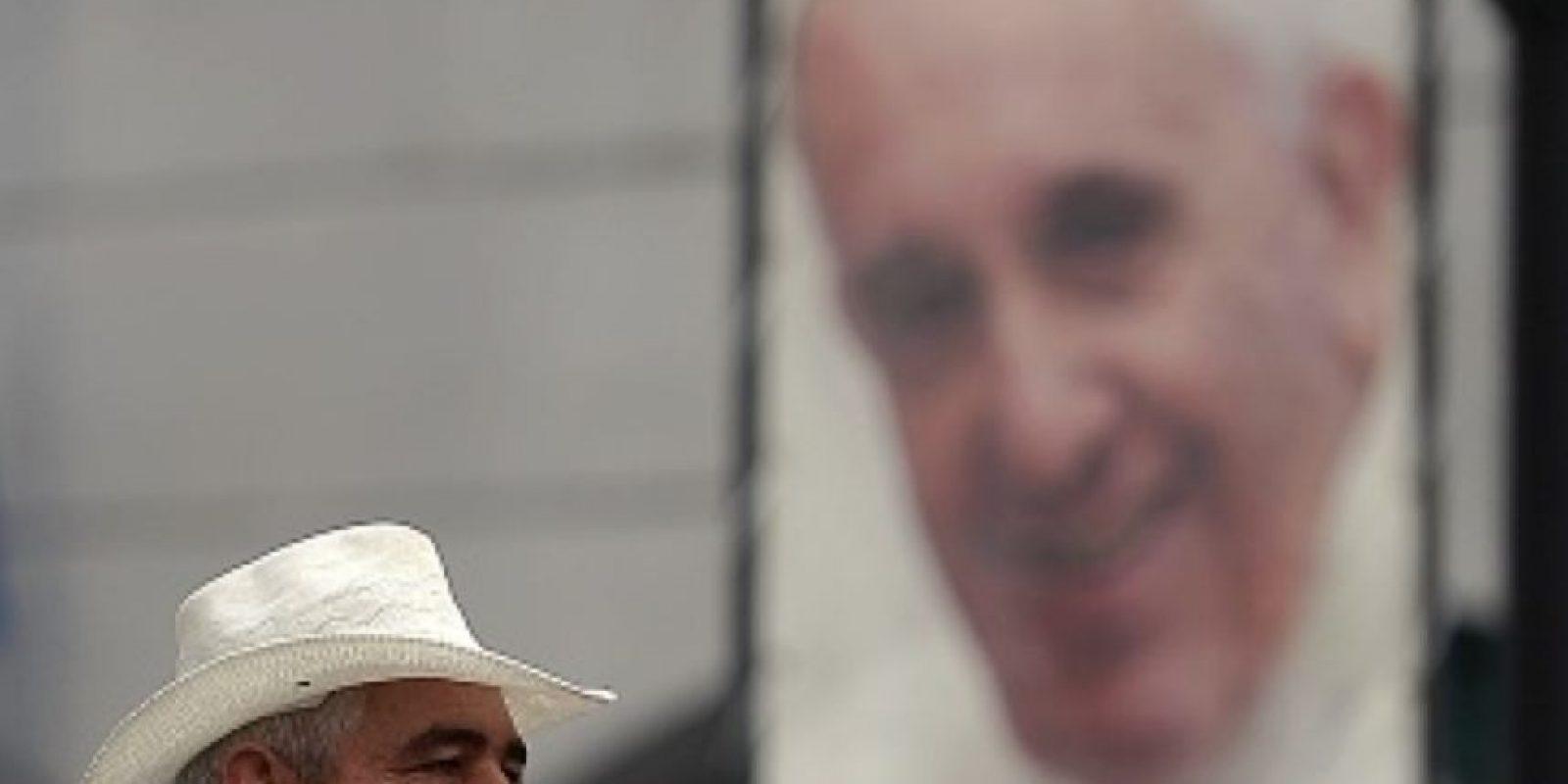 Con un mensaje conciliador y esperanzador, el papa Francisco le habló a los cubanos antes de su viaje. Foto:vía Getty Images