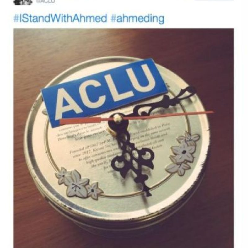 Esto lo publicó la Unión de Libertades Civiles de Estados Unidos. Foto:vía Twitter