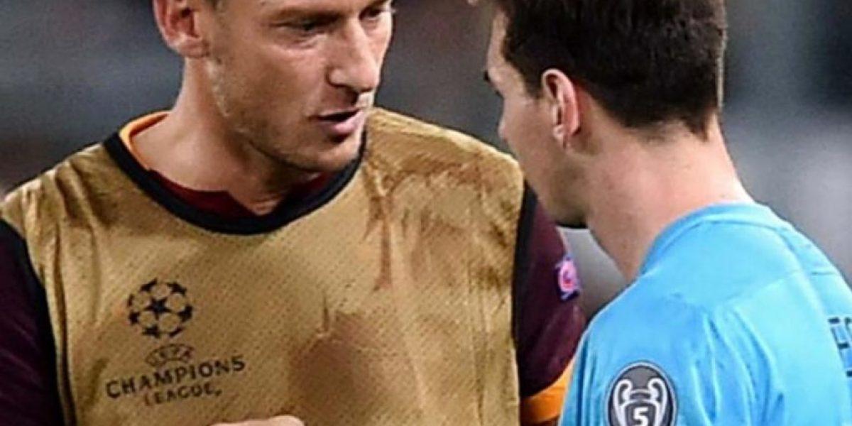 El favor que Totti le pidió a Messi