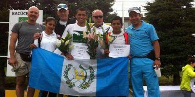 Erick Barrondo y Mirna Ortiz ganaron las medallas de oro en una competencia en Eslovaquia