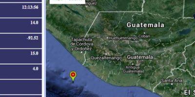 Sismo de magnitud 4,3 grados Ritcher sacude Pacífico del país sin consecuencias