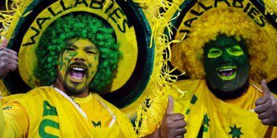 """Los aficionados de """"colores"""" no sólo se ven en las gradas de los estadios de fútbol. Foto:Getty Images"""