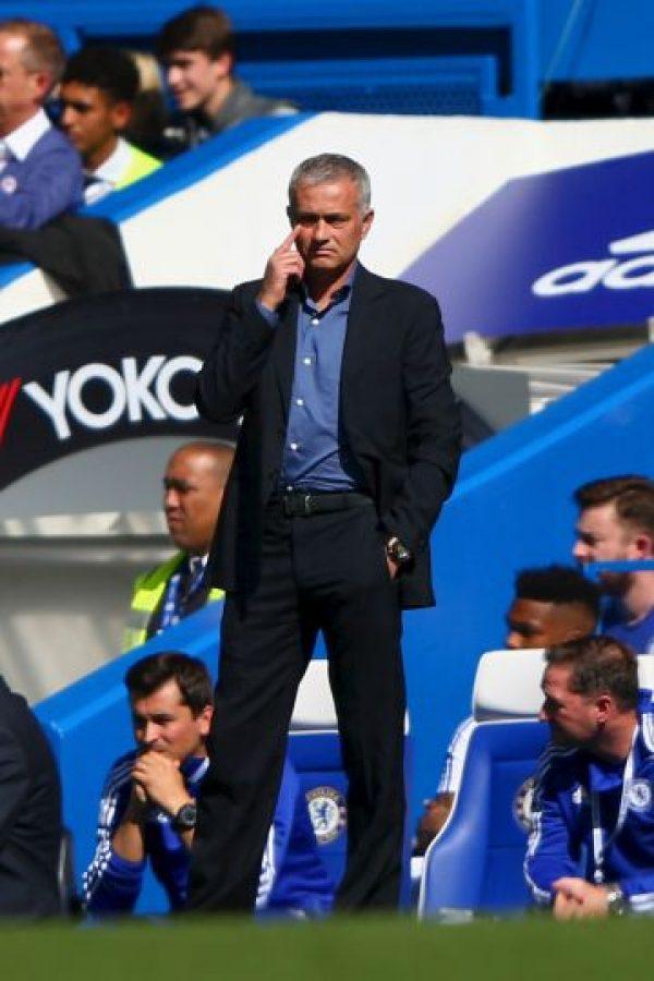 Las tranquilidad volvió a José Mourinho este sábado. Foto:Getty Images