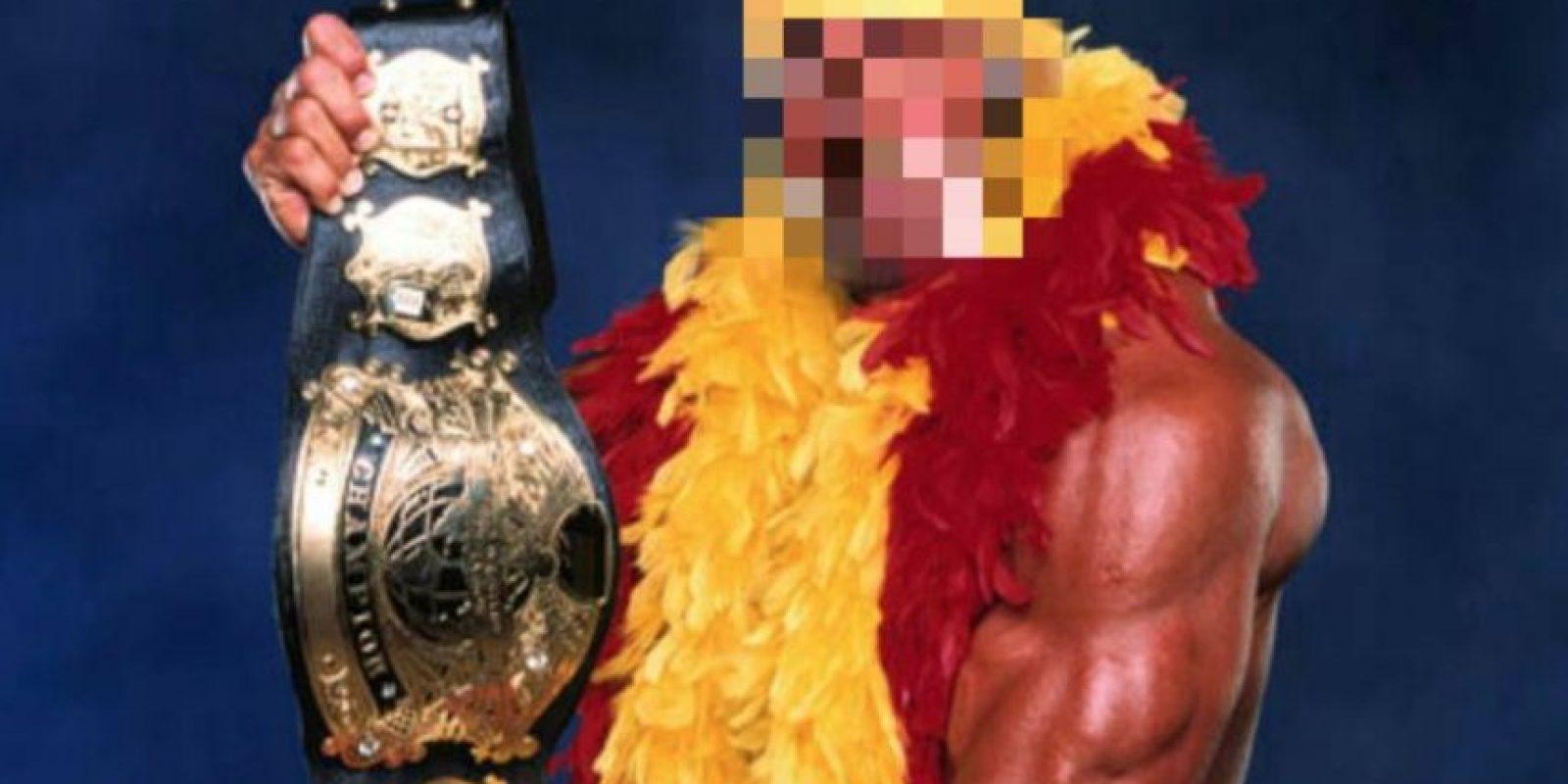 Y así se burlaron en redes sociales. Foto:Vía facebook.com/WWEMEMES