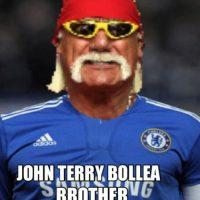 Lo compararon con John Terry, acusado de racismo contra Anton Ferdinand, otro futbolista de raza negra. Foto:Vía facebook.com/WWEMEMES