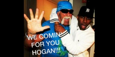 Vamos por ti Hogan. Foto:Vía facebook.com/WWEMEMES