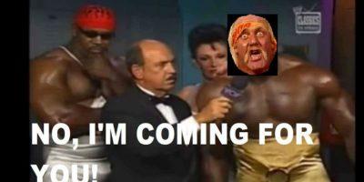 No, yo voy por ustedes. Foto:Vía facebook.com/WWEMEMES