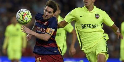 El cuadro azulgrana no le dio oportunidad a su rival en el duelo en el Camp Nou. Foto:AFP