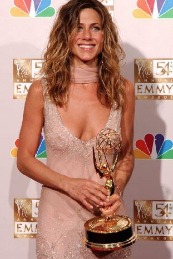 8.- En 2002, Jennifer Aniston dio el discurso más emotivo al recibir el premio como mejor actriz. Foto:Getty Images
