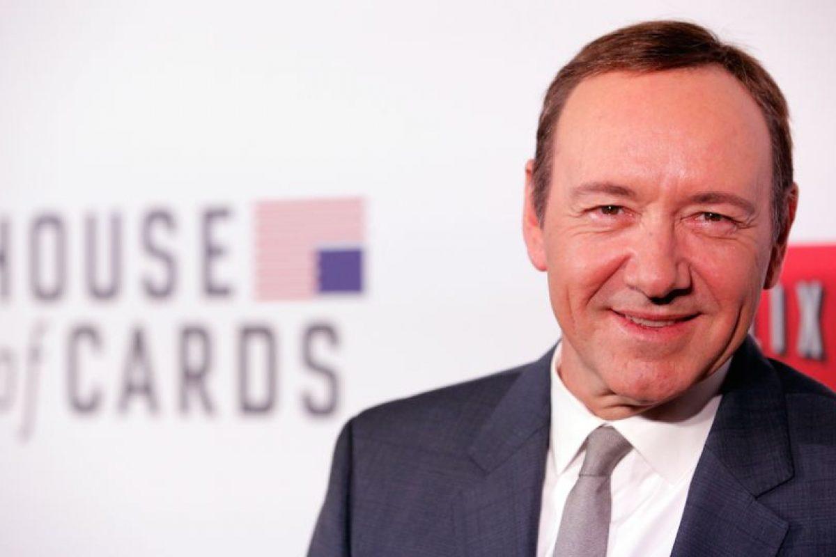 10.- En 2013, House of Cards fue la primer serie en línea que recibió una nominación Emmy. Foto:Getty Images