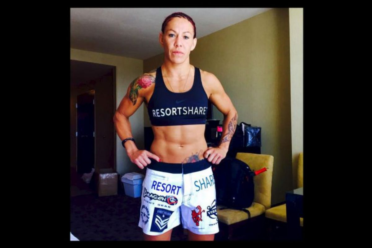 Es considerada la número 1 del ranking de las 145 libras según el ranking unificado de mujeres para la MMA. Foto:Vía instagram.com/criscyborg