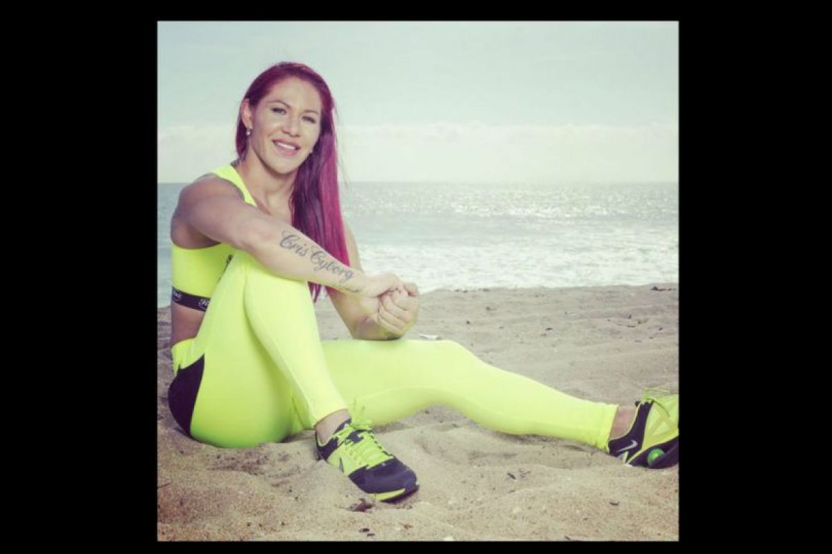 Actualmente pelea para Invicta Fighting Championships, una compañía estadounidense de peleas exclusivas para mujeres. Foto:Vía instagram.com/criscyborg