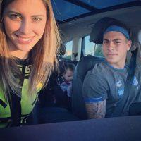 En agosto de este año, la brasileña, madre de la hija de Vargas escribió en su Instagram que había terminado su relación con el chileno. Foto:Vía instagram.com/danibcolett