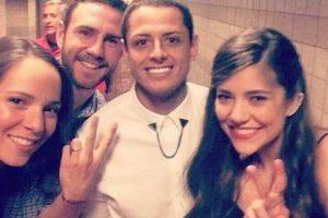 5. Javier Hernández y Leticia Sahagún Foto:Vía instagram.com/letysaha