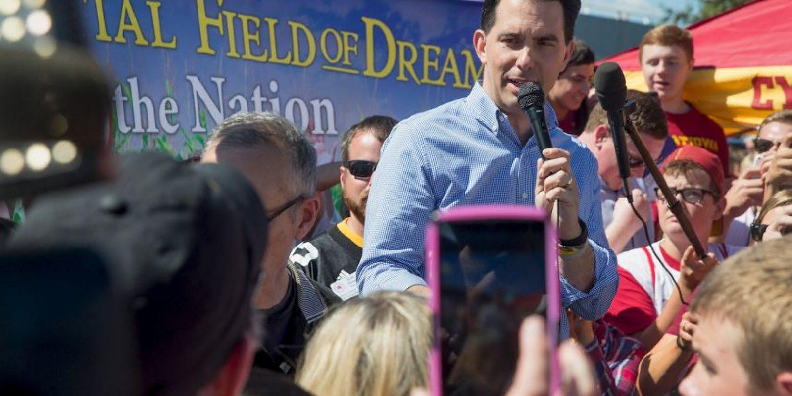 El político formaba parte de los precandidatos del Partido Republicano. Foto:AFP