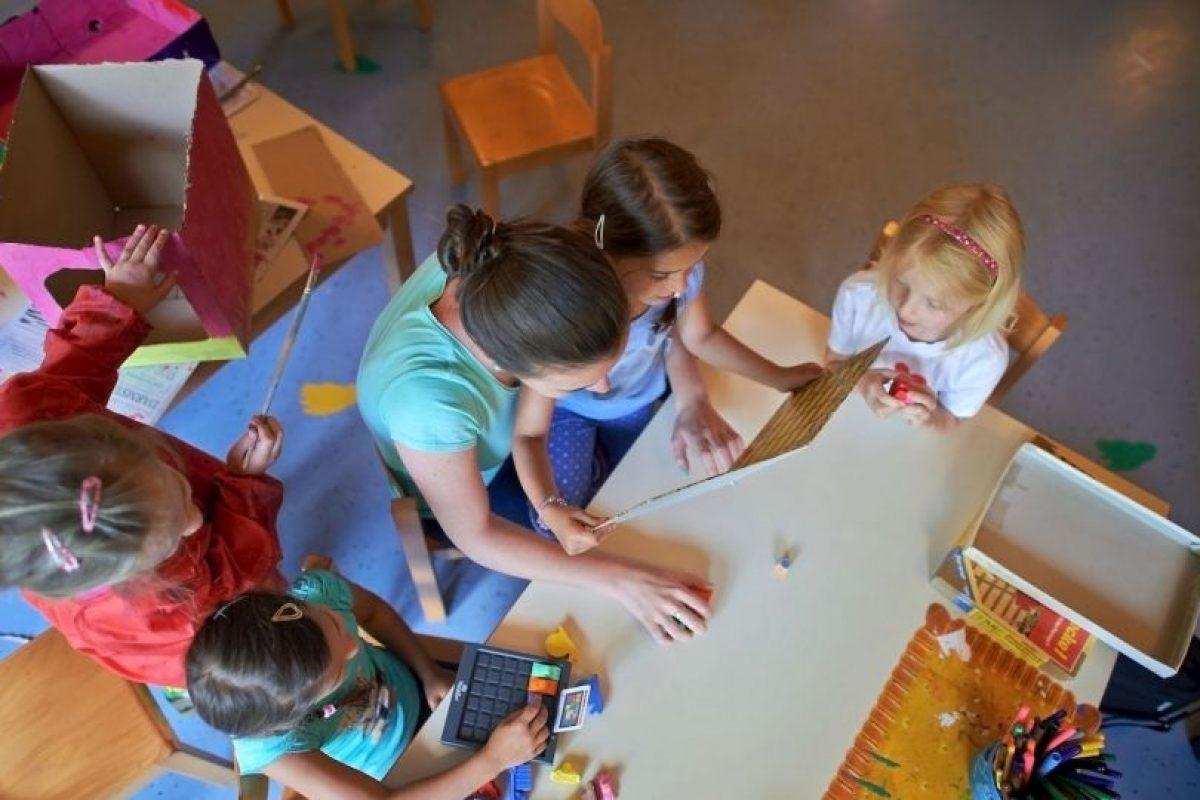 2. Si están muy tristes por el proceso de divorcio pueden pedirle a algún familiar que hable con los niños. Foto:Getty Images