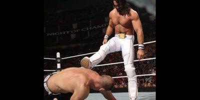 Seth Rolins enfrentó a John Cena por el Campeonato de Estados Unidos Foto:WWE