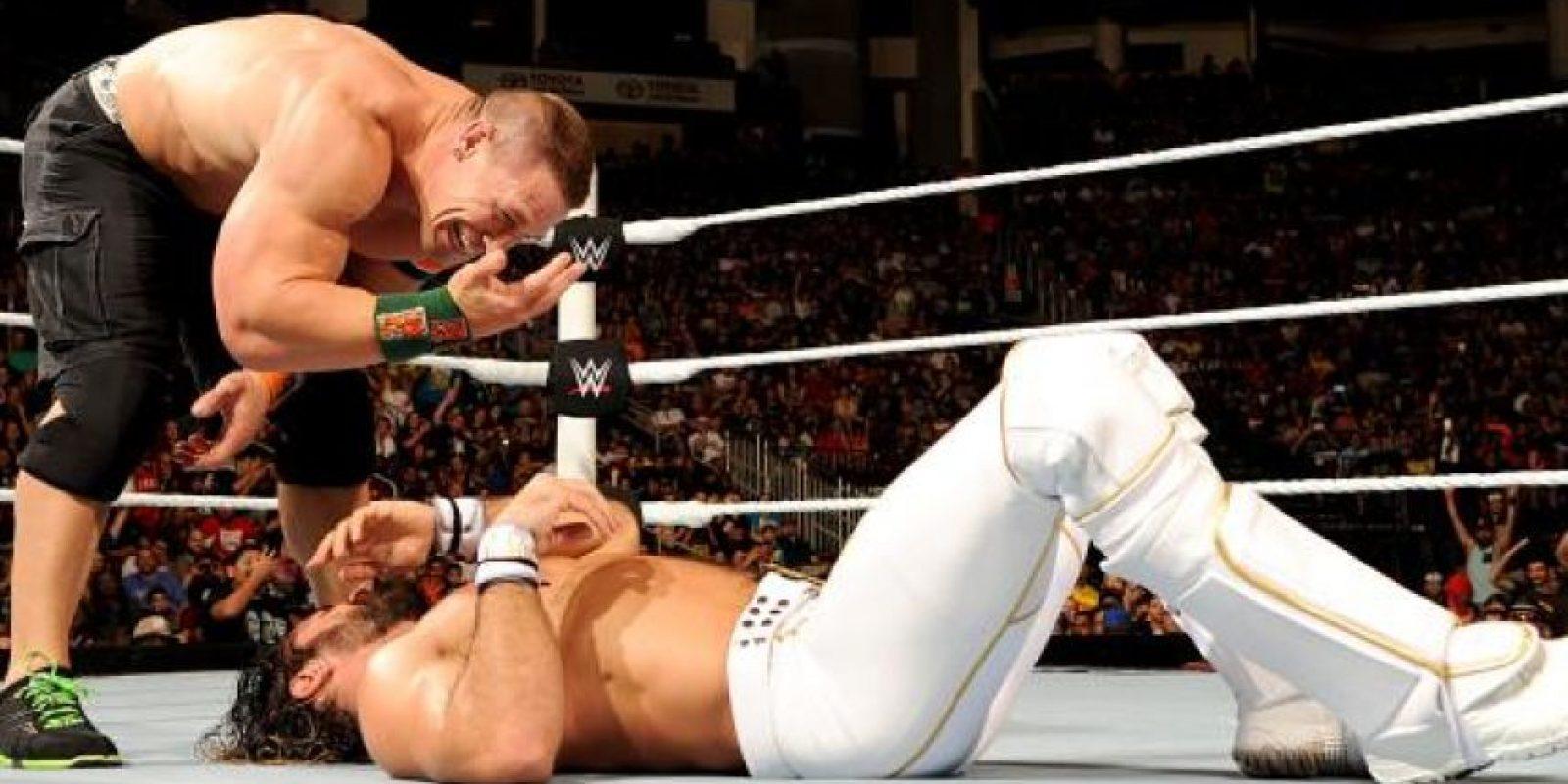 John Cena recuperó el campeonato de Estados Unidos Foto:WWE