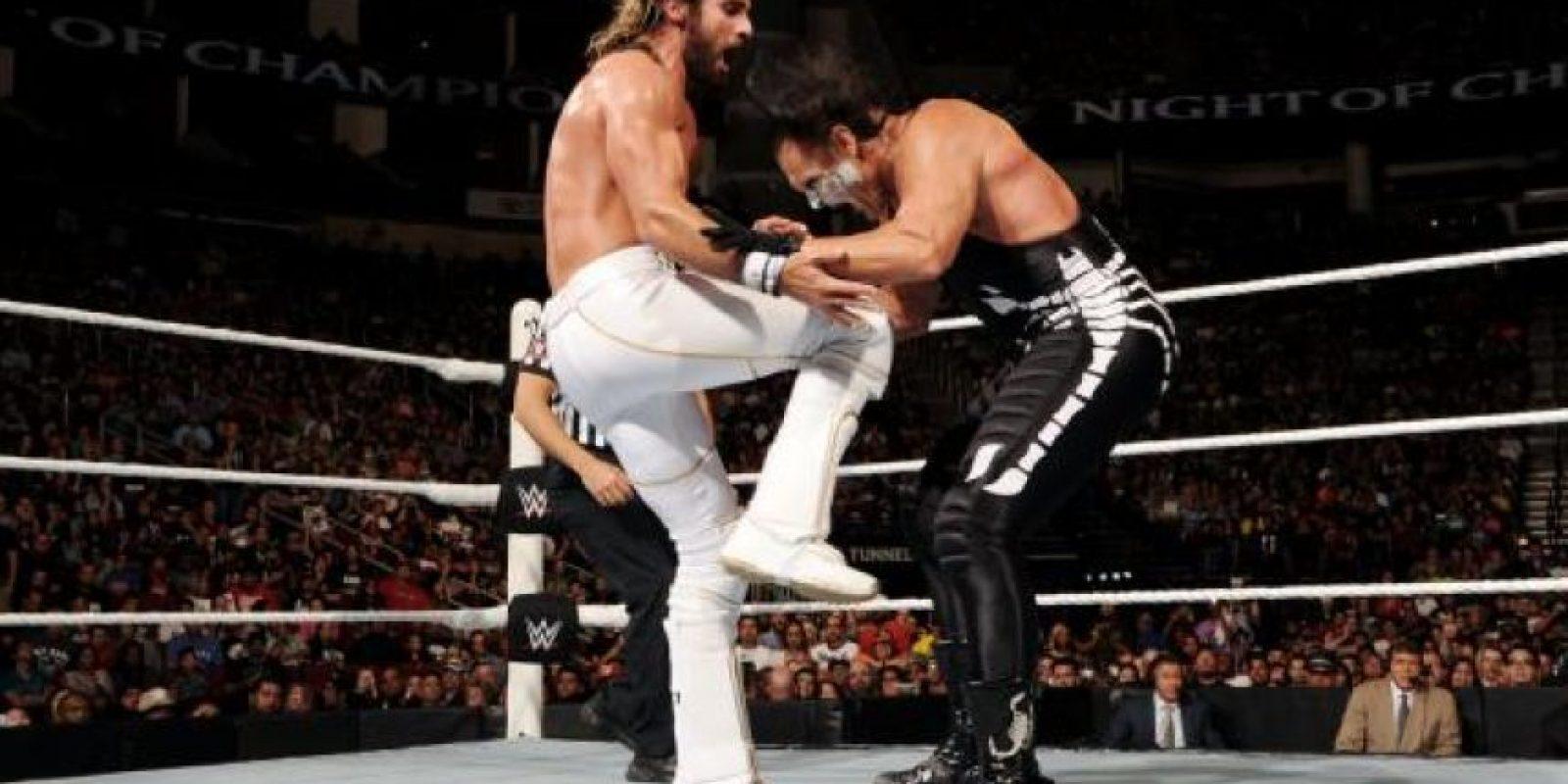 "Superó al ""Ícono"" Sting Foto:WWE"