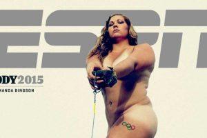Amanda Bingson. Atleta estadounidense especializada en lanzamiento de martillo Foto:ESPN