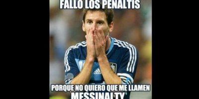 Messi volvió a fallar un penal y fue víctima de los memes