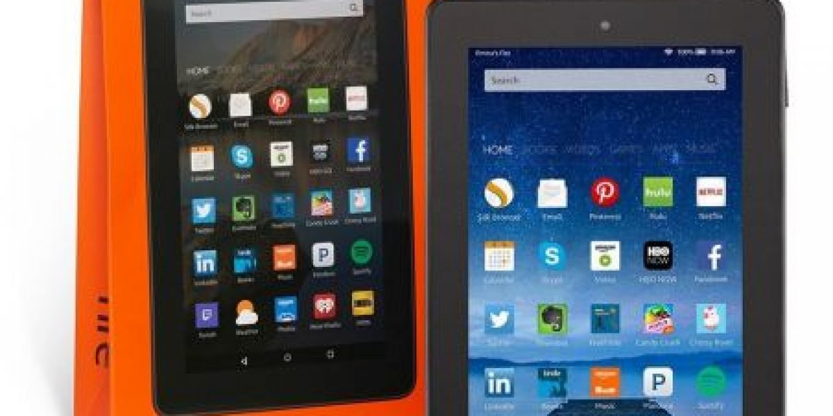 Fire, la nueva tableta de Amazon por menos de 50 dólares