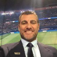 Ahora es comentarista de BEIN Sports. Foto:Vía twitter.com/vieri_bobo