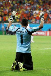 Ha dejado su meta intacta en cuatro partidos de Liga y uno de Champions League Foto:Getty Images