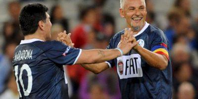 El quinto mejor goleador de la Selección Italia se retiró en 2004. Foto:Getty Images