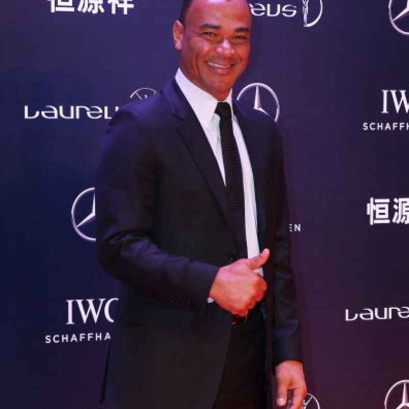 El campeón del mundo en 1994 y 2002 se retiró en 2008. Foto:Getty Images