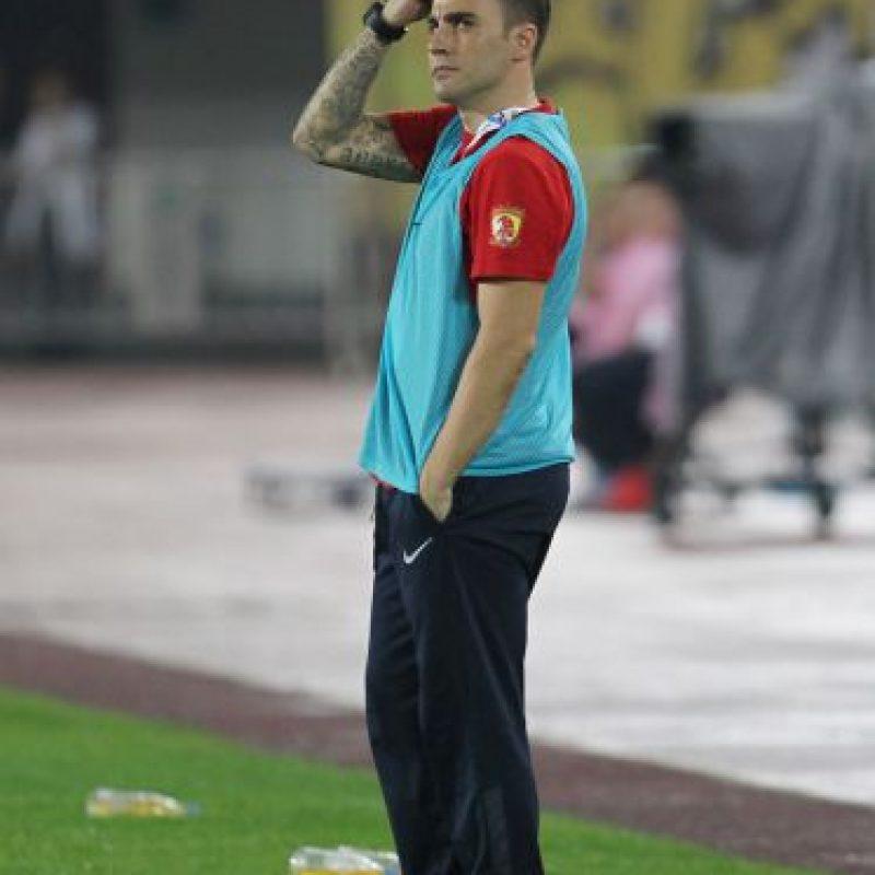 A sus 42 años, continúa su carrera como entrenador, aunque hoy no tiene equipo y seguirá preparándose. Aspira a dirigir al Nápoles o a la Selección de Italia. Foto:Getty Images