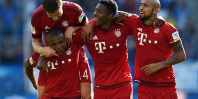 """El chileno, que """"no convence"""" a unas exfiguras del equipo bávaro responde con goles y buenas actuaciones a los cuestionamientos sobre su nivel. Foto:Getty Images"""
