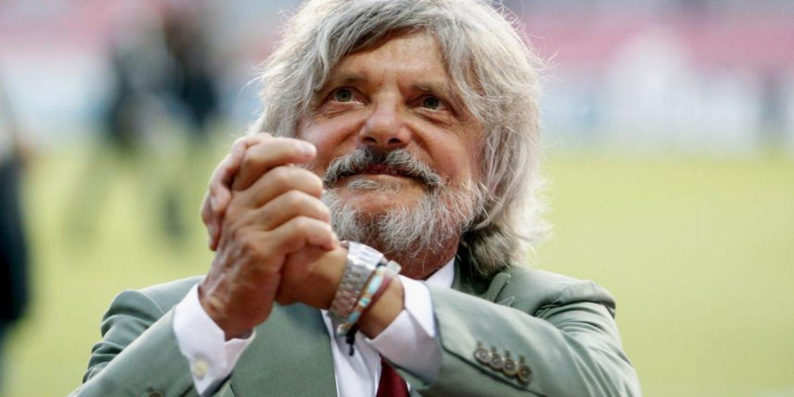 """En 2007, luego de tres años de gestión, el club, ahora llamado """"Società Sportiva Calcio Napoli"""", consiguió el ascenso a la Serie A. Foto:Getty Images"""