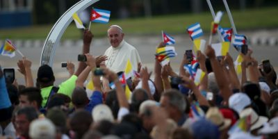Esto debido a la gira que el Papa inició en la isla y continuará en Estados Unidos. Foto:Getty Images