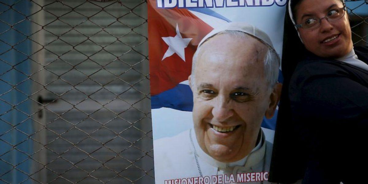 Video: Así fue el encuentro de estas monjas con el Papa en Cuba