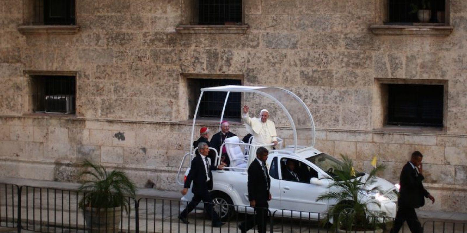 El miércoles 23 el papa llevará a cabo la canonización del español fray Junípero Serra. Este será el primer hispano en ser declarado santo en una iglesia de Estados Unidos. Foto:Getty Images