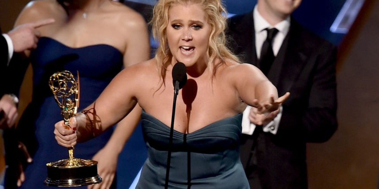"""""""Inside Amy Schumer"""". La comediante y protagonista del show, Amy Schumer, recibió el galardón Foto:Getty Images"""