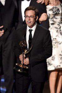 """""""The Daily Show con John Stewart"""". El guionista Elliott Kalan recibió el premio Foto:Getty Images"""